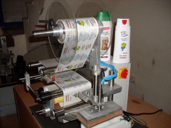 Sticker Manuel Yuvarlak Etiketleme Makinesi